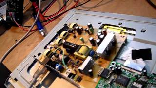 Repairing a Benq FP71G+ LCD monitor