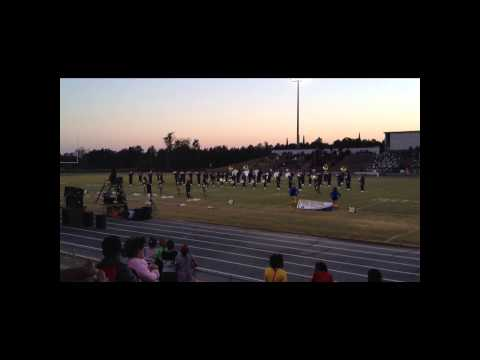 "Crestwood High School ""Battle of the Bands"" - Keenan High School Marching Band (HD)"