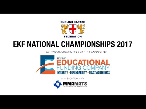 LIVE - EKF NATIONAL CHAMPIONSHIPS 2017