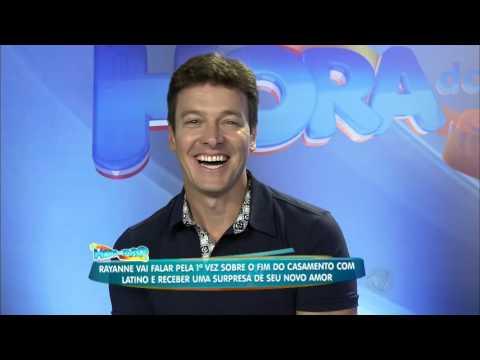 Douglas Sampaio faz surpresa para Rayanne Morais no Hora do Faro