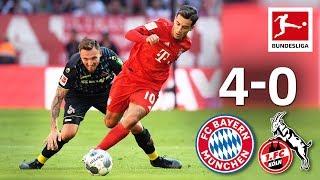 Coutinho's First League Goal & Lewandowski Brace I Bayern München Vs. 1. Fc Köln I 4-0 I Highlights