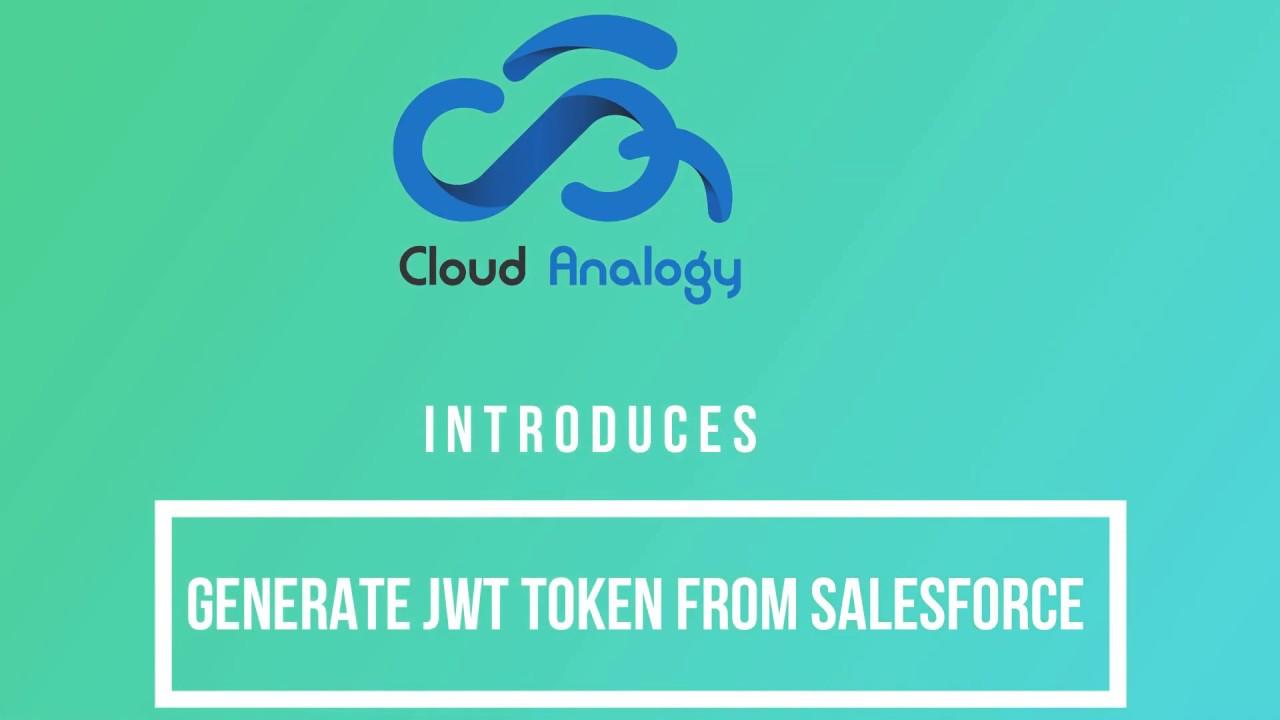 Generate JWT Token from Salesforce
