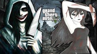 GTA 5 Mod - Jeff The Killer Tìm Và Giết Jane The Killer (P1)