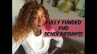 PhD scholarships! Fully Funded!