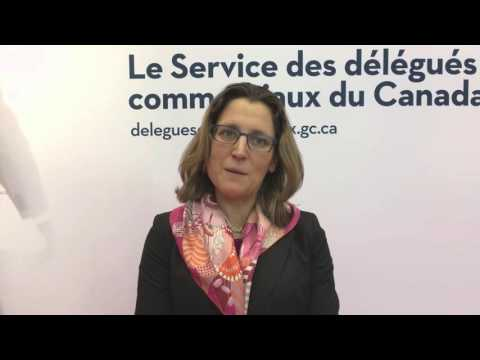 Minister Freeland - Prospectors and Developers Association of Canada (PDAC) Annual Convention