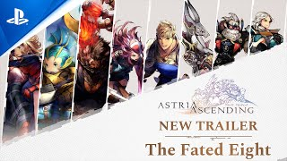 Astria Ascending: The Fated Eight - Release Date Trailer   PS5, PS4
