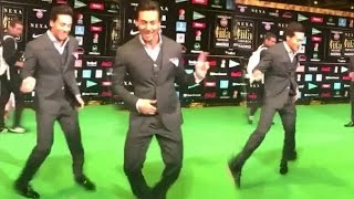 Tiger Shroff's LIVE Dance At IIFA Awards 2016 Madrid Red Carpet