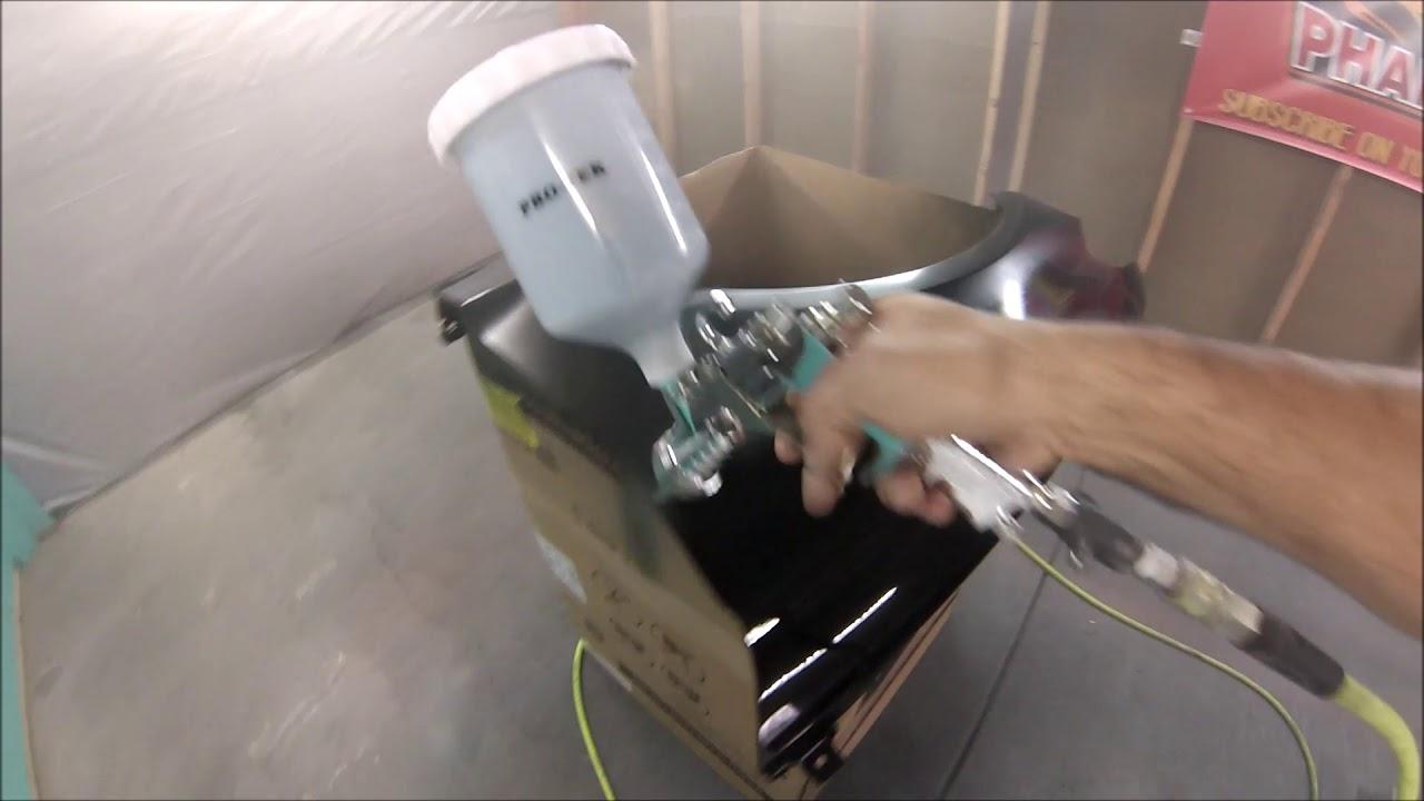 Pro Tek 4000 Hvlp Gun Review And Demonstration