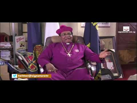 SIGNATURE TV INTERVIEW WITH ARCHBISHOP EMMANUEL CHUKWUMA