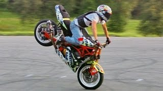 Как Делать Стоппи на Мотоцикле