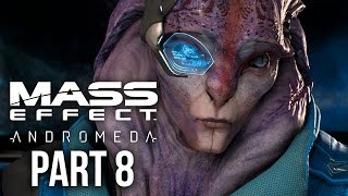 MASS EFFECT ANDROMEDA Walkthrough Part 8 - ANGARA (Female) Full Game