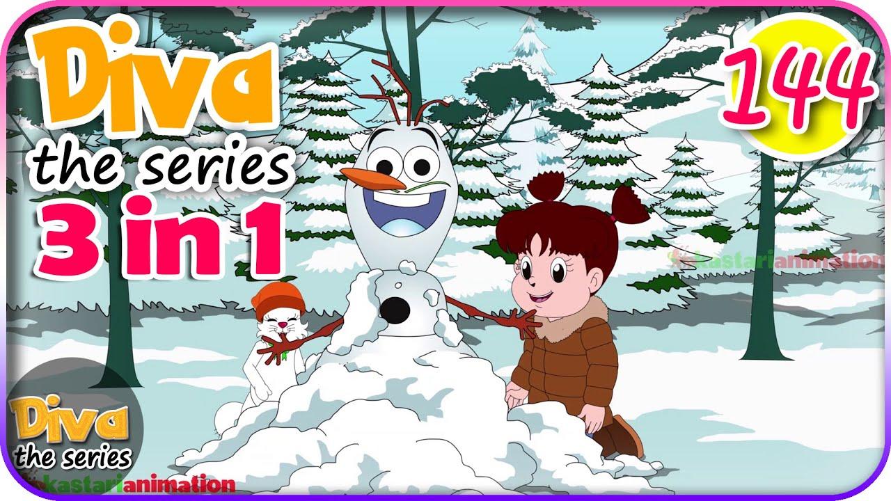 Seri Diva 3 in 1 | Kompilasi 3 Episode ~ Bagian 144 | Diva The Series Official