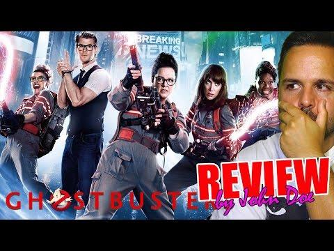 Cazafantasmas - CRÍTICA - REVIEW - OPINIÓN - HD - John Doe - Ghostbusters - 2016