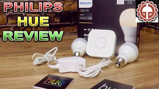 Philips hue White LED Starter Kit UNBOX & DEMO