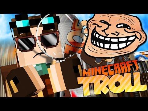 DETECTIVE LYON SULLE TRACCE DI FRAN! | Minecraft TROLL ITA - Ep. 105