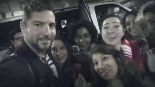 David Bisbal presentando Hijos del Mar en México