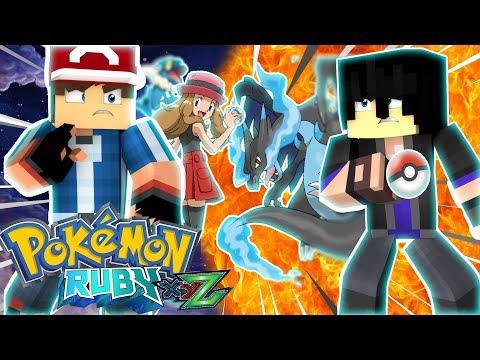 Minecraft: ALAIN O NOVO RIVAL DE GOTEN !?! - Pokemon Ruby (Pokémon XYZ) #196 ‹ Goten ›