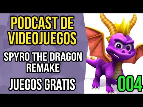 Podcast de videojuegos 004 - Twitch prime, Spyro the dragon remake, Tesla vs lovecraft Evolve