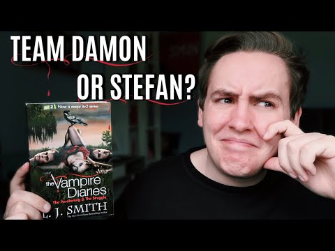 READING THE VAMPIRE DIARIES FOR THE FIRST TIME
