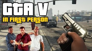 GTA 5 in First Person has us all excitable (PS4 Gameplay) - VideoGamer
