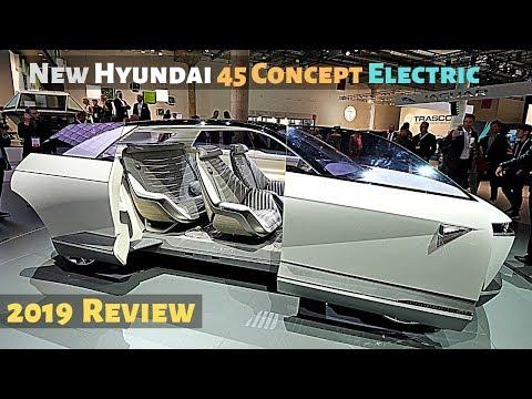 New Hyundai 45 Concept Electric 2019 IAA Auto Show Frankfurt