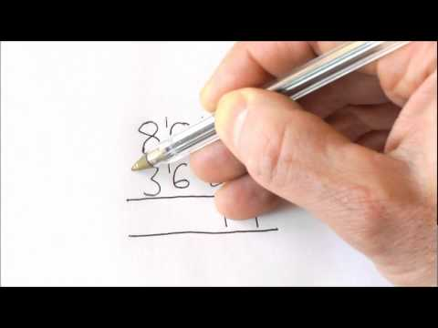 The EASIEST method to do taking away! How to do subtraction.