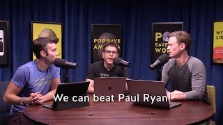 Pod Save America Introduces Swing Left's Newest District - Paul Ryan's!