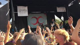 2 - Tiny Glowing Screens, Part 1 & Sloppy Seconds - Watsky (Live @ Warped Tour Charlotte, 17)