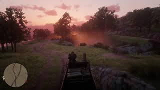 Red Dead Redemption 2 Attempt to Drive Carriage to Emerald Ranch Get Robbed