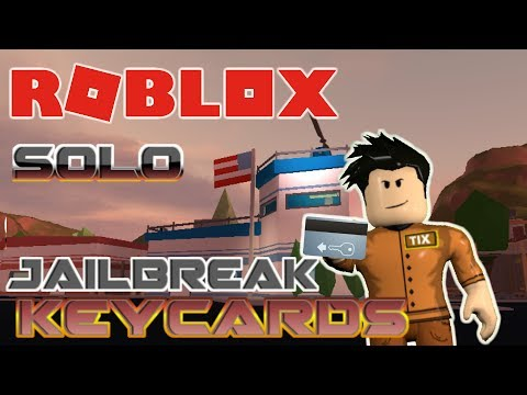 How To Get Free Keycards In Jailbreak Solo Roblox Jailbreak Hack Glitch Youtube