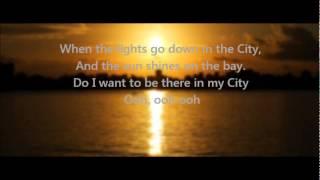 Journey - Lights (Go Down In the City) w/ Lyrics