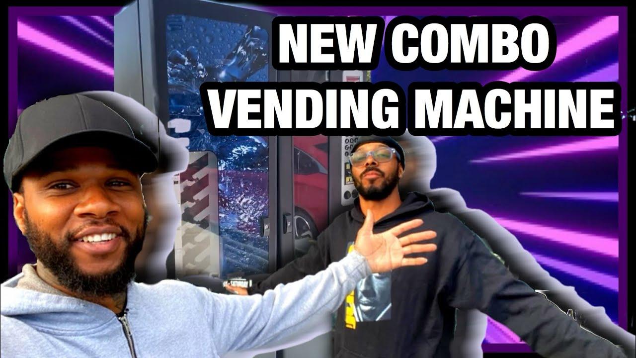 PICKING UP MY NEW COMBO VENDING MACHINE 4 NEW LOCATION!!!
