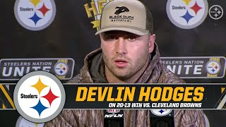 hodges-on-getting-the-start-and-the-win-over-the-cleveland-browns-pittsburgh-steelers