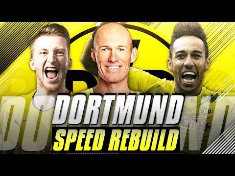 Rebuilding Borussia Dortmund vs JarradHD (Speed Rebuild) - FIFA 18 Career Mode