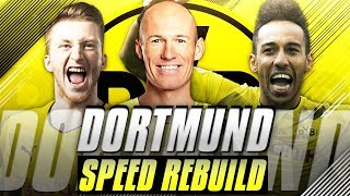 Rebuilding Borussia Dortmund vs JarradHD (Speed Rebuild) - FIFA 18 Career Mode