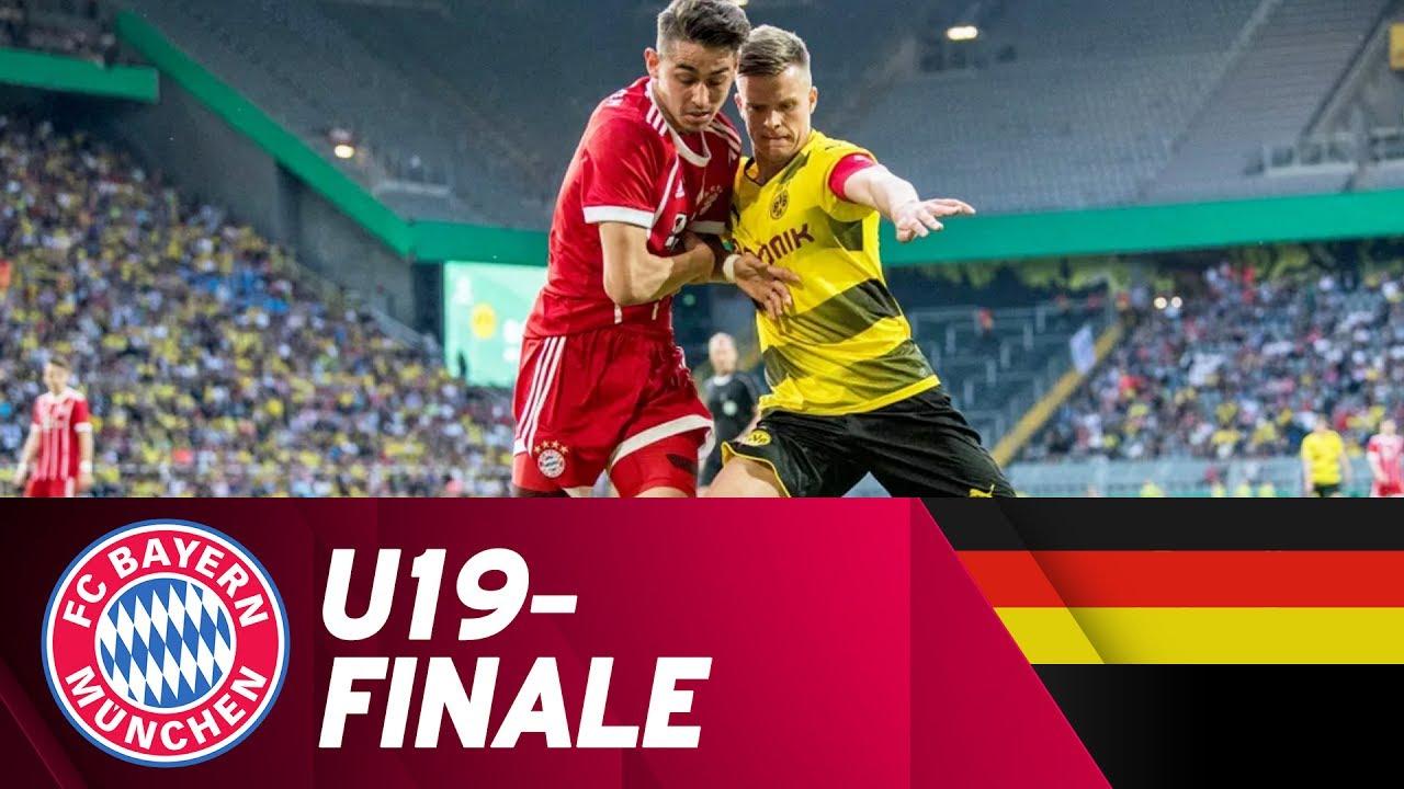 Borussia Dortmund Fc Bayern München Highlights U19 Bundesliga Finale