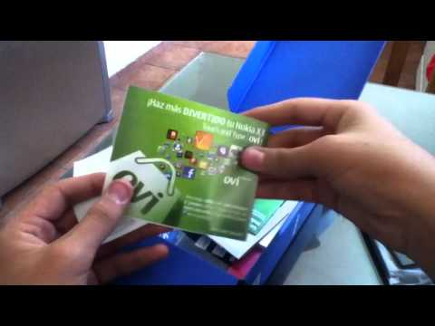 Nokia X3-02 Touch & Type Unboxing.