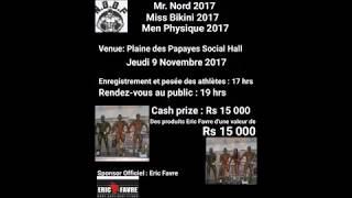 Video Mr North Miss Bikini Men Physique Announcement 2017 download MP3, 3GP, MP4, WEBM, AVI, FLV Januari 2018