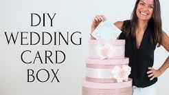 Wedding Cake Card Box | 3 Tier DIY Wedding Card Box Tutorial
