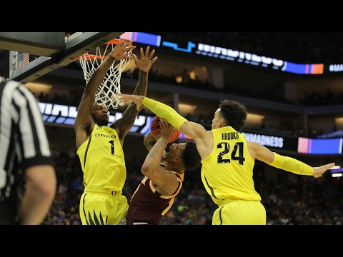 First Round: Oregon upends Iona