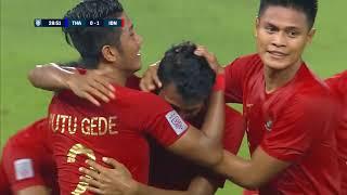 Zulfiandi 29' Vs Thailand (AFF Suzuki Cup 2018 : Group Stage)