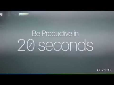 Be Productive In 20 seconds with Sitrion ONE Employee App