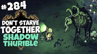 Controlling Reanimated Skeleton with the Shadow Thurible - Don't Starve Together Gameplay - Part 284
