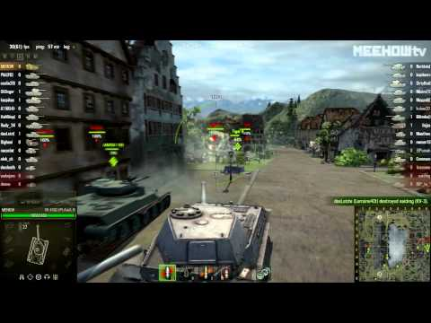 World Of Tanks: Battle With VK 4502 (P) Ausf. B (#41)