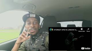 STORMZY - 4PM IN LONDON | Reaction 🇬🇧