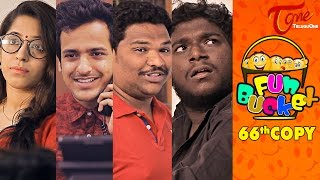 Fun Bucket | 66th Copy | Funny Videos | by Harsha Annavarapu | #TeluguComedyWebSeries