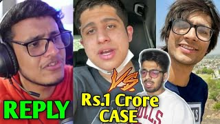 Triggered Insaan EXPOSED? - Reply To Haters | Rs.1 Crore Case By YouTuber, Sourav Vs MN, Round2hell