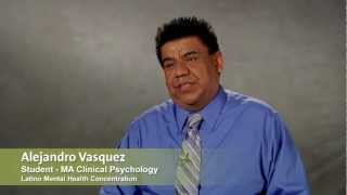 MA Clinical Psychology Student, Alejandro Vasquez