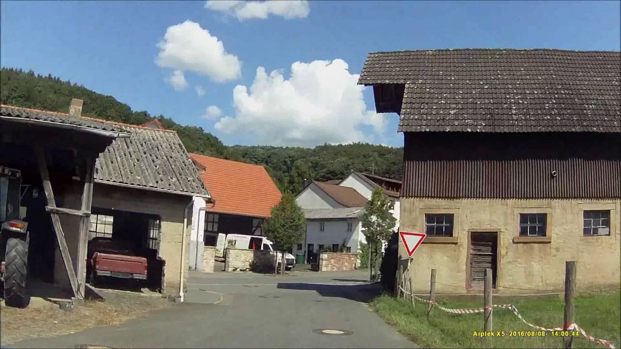 Ober Kainsbach ortsdurchfahrt im odenwald erb ober kainsbach sw rein ost raus