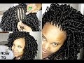 HOW TO FIX BEAUTIFUL CROCHET BRAIDS / CURLS